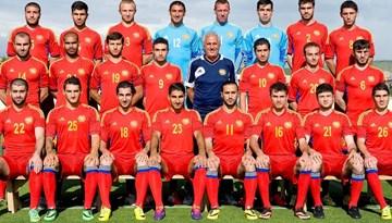 Armēnijas izlase paziņojusi sastāvu spēlei pret Latviju