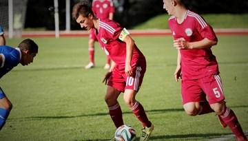Latvijas U-18 futbolisti Tallinā piekāpjas Igaunijas vienaudžiem, 30. decembrī spēle pret Lietuvu