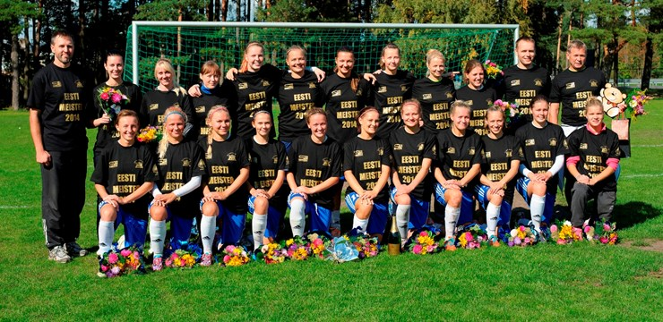 """Iepazīstinām ar pretinieku - Igaunijas sieviešu futbola čempiones """"JK Pärnu"""""""