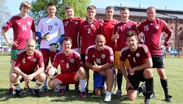 """LFF aicina atbalstīt Latvijas futbola fanus """"EUROFAN 2015"""" turnīrā"""