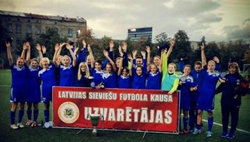 Rīgas FS uzvar pirmajā sieviešu Latvijas Kausa izcīņā