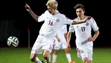 Latvijas U-18 futbolisti uzsākuši otro treniņnometni pirms V. A. Granatkina piemiņas turnīra
