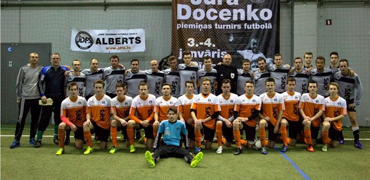 Aizvadīts tradicionālais Jura Docenko piemiņai veltīts futbola turnīrs