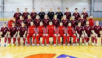Latvijas U-21 izlase 20 spēlētāju sastāvā devusies uz Sanktpēterburgu