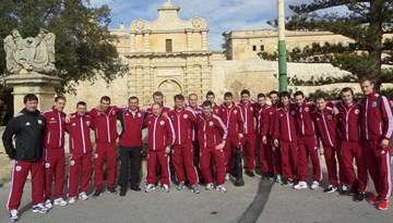 Latvijas telpu futbola izlase dodas ekskursijā Maltas galvaspilsētā