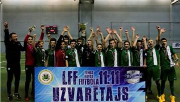 Ziemas Kauss jauniešiem: FS METTA triumfē U-15 vecuma grupā