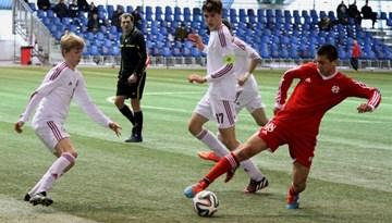 Attīstības kauss 2015: Latvijas U-17 izlase pārspēj Gruziju un spēlēs par 1.vietu kopvērtējumā