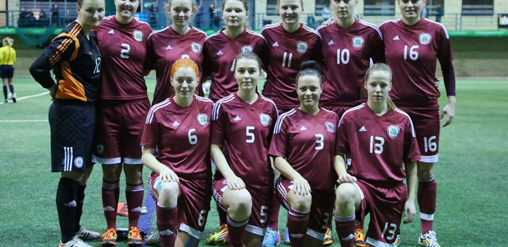 """Latvijas sieviešu futbola izlase sestdien pārbaudes spēlē Rīgā tiksies ar """"JK Pärnu"""""""