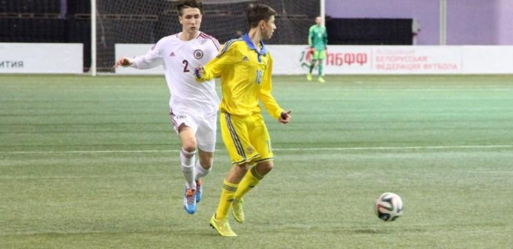 Attīstības kauss 2015: Latvijas U-17 izlase startē ar uzvaru pār Ukrainu