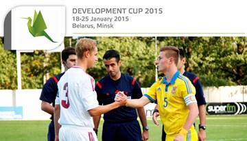 Attīstības kauss 2015: Latvijas U-17 futbola izlasei šodien pirmā spēle pret Ukrainu