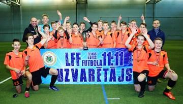 Ziemas Kauss jauniešiem: SK Babīte paliek nepārspēti U-16 vecuma grupā