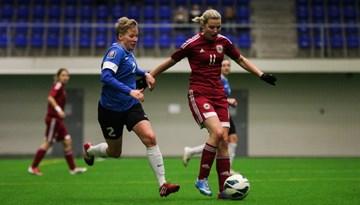 Noslēgusies sieviešu futbola izlases otrā pārbaudes spēle šogad