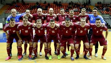Pirmajā pārbaudes spēlē Latvijas telpu futbola izlasei zaudējums pret Uzbekistānu