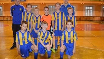 """Rīgas kausā telpu futbolā uzvar SK """"Super Nova"""" zēni"""
