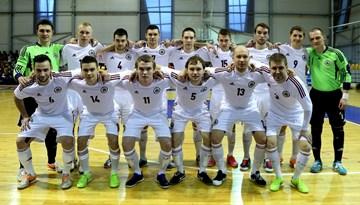 Latvijas telpu futbola izlase pārbaudes spēlē atkārtoti atzīst Uzbekistānas pārākumu