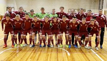 Atjaunota Latvijas telpu futbola U-21 izlase, martā pārbaudes spēles Rīgā pret Portugāli