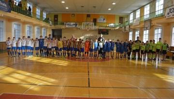 """Rīgas kausā telpu futbolā zēniem arī 2003. gada vecumā triumfē SK """"Super Nova"""""""