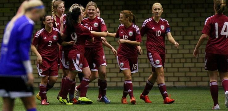 """Sagatavošanās posmu mājās Latvijas sieviešu izlase noslēdz ar uzvaru pār """"JK Pärnu"""""""