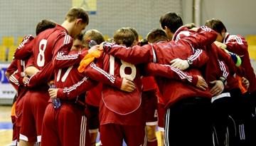 Latvijas U-21 telpu futbola izlase Rīgā draudzības spēlēs tiksies ar Spāniju