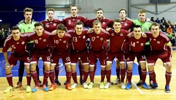 Pirmajā pārbaudes spēlē Latvijas U-21 telpu futbola izlase piekāpjas Portugālei