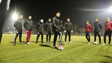 Latvijas nacionālā futbola izlase aizvada treniņnometni Vācijā