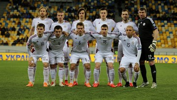 Draudzības spēlē Latvijas izlase spēlē neizšķirti ar Ukrainas izlasi