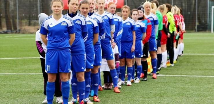 Svētdien Rīgā, Preiļos un Olainē turpināsies galvenie sieviešu futbola turnīri