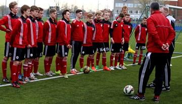 Noslēgusies Latvijas U-17 jauniešu futbola izlases otrā spēle UEFA Attīstības turnīrā Somijā