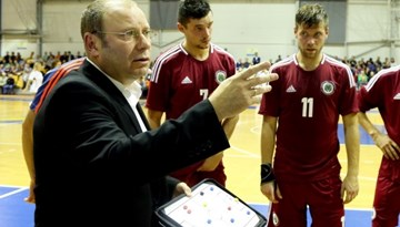 Paziņots Latvijas izlases sastāvs FIFA Pasaules telpu futbola kausa kvalifikācijas turnīram Nīderlandē