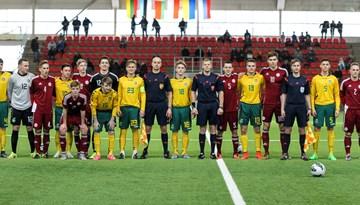 Latvijas U-18 izlase kalendāro gadu noslēdz ar neizšķirtu pret Lietuvu