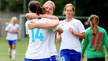 Rīgas Futbola skola izcīna vēsturisko pirmo uzvaru UEFA Sieviešu čempionu līgā