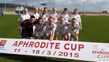 """""""Aphrodite Cup"""": Latvijas izlase piekāpjas Grieķijai un spēlē par 3.vietu tiksies ar Maltu"""