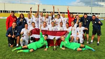 Baltijas kauss sievietēm: Latvija cīnās neizšķirti un izcīna trofeju