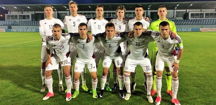 Latvijas U-17 izlase EČ kvalifikāciju noslēdz ar neizšķirtu
