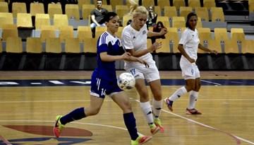 Rīgas Futbola skola nosargā čempionu titulu Latvijas meiteņu telpu futbola čempionāta vecākajā grupā
