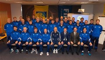 Rīgā aizvadīts FIFA telpu futbola treneru seminārs
