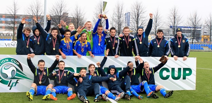 Ukrainas U18 futbola izlase uzvar 2015. gada ''Federācijas kauss'' turnīrā