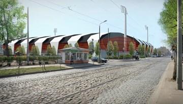 Prezentēts sporta kompleksa Kr. Barona ielā 116A pārbūves process
