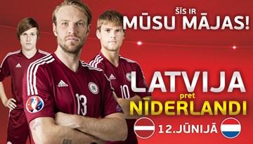 LATVIJA – NĪDERLANDE:  abonementi pārdošanā jau no 10.marta!