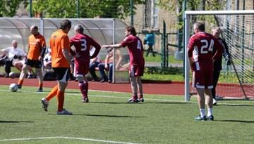 Daugavpils vīriem uzvara arī otrajā Latvijas atklātā Veterānu čempionāta posmā