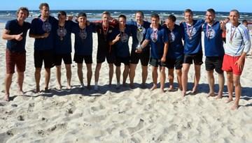 RTU izcīna Latvijas čempionu titulu pludmales futbolā