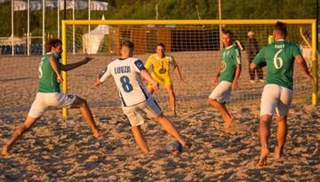 Sāksies Jūrmalas kauss pludmales futbolā