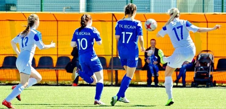 BFC Daugavpils un FK Laidze/Talsu NSS pārvar Latvijas sieviešu kausa izcīņas priekšsacīkstes