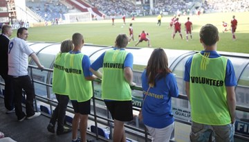 LFF meklē brīvprātīgos darbam Latvijas Kausa finālspēlē Ventspilī