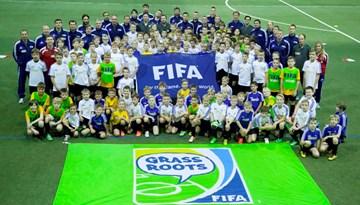 Noslēdzies FIFA Grassroots treneru semināra ietvaros rīkotais bērnu festivāls