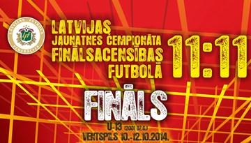 Ventspilī notiks Latvijas Jaunatnes čempionāta finālsacensības futbolā U13 grupā