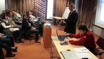 UEFA treneru seminārs 8.janvārī, lektors - J.Nagaicevs
