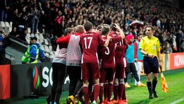 Latvijas izlase cīnās neizšķirti ar Turciju