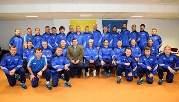 """Noslēdzies """"FIFA ELITE YOUTH"""" organizētais seminārs futbola treneriem"""