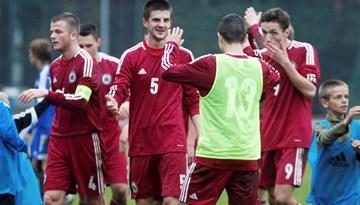 Latvijas U19 izlase EČ kvalifikācijas grupā ierindojās 3. vietā